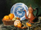 Nature morte aux oranges